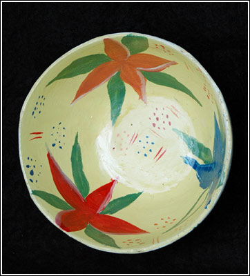 Bowls - medium with plaster by Art Creation Foundation For Children