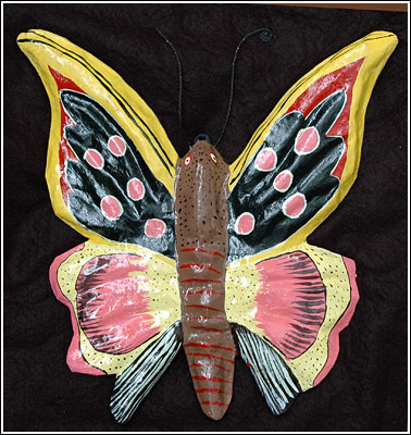 Wall Hanging -  Butterfly by Art Creation Foundation For Children