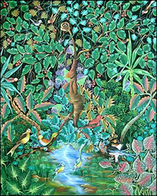 Mystical Tree by Jean Idelus Edme