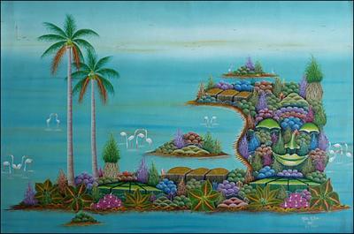 Floating Island by Henri Yves Meus