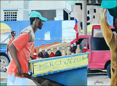 La Marchande de Fresco by James Jason