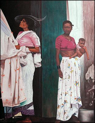 La Mere et le Bebe by Hugh Michel Berrouet