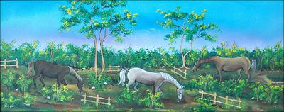 Les Chevaux by Cupidon Rodrigue