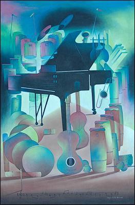 les Instruments de Musique by Hugh Michel Berrouet