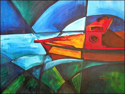 Deep Water by Patricia Brintle
