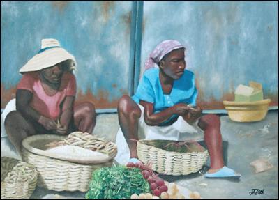 Marchandes de Legumes by James Jason