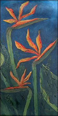 Bird of Paradise - Threes Company by Patricia Brintle