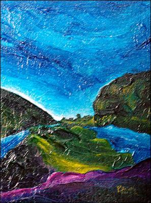 Lavender River by Patricia Brintle