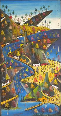 Imaginary Landscape by Prefete Duffaut