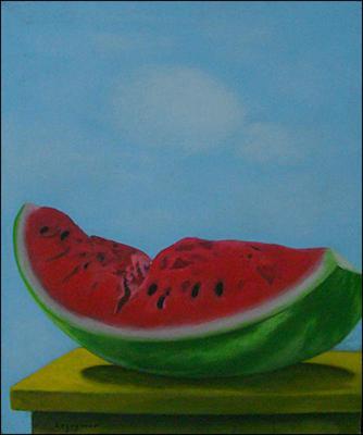 Watermelon by Jean-Claude Legagneur