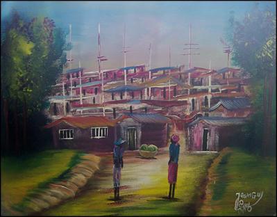 Shantytown by Jean Guy