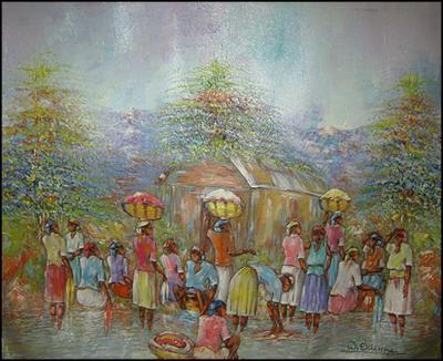 Washing by Watson Etienne