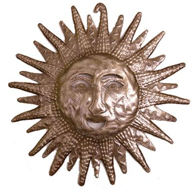 Smiling Sun by St. Charles Jean Bernard