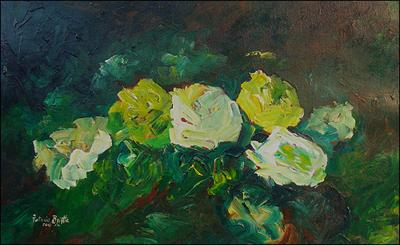 Furtive Roses by Patricia Brintle