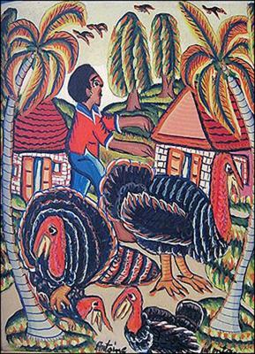 The Turkey Sitter by Montas  Antoine