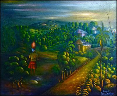 Evening Sky by Joseph Wilner