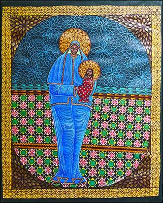Madonna and Child by Edens Rosier