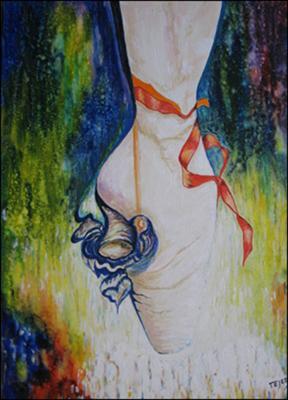Ballet Shoe by Isidoro  Tejeda