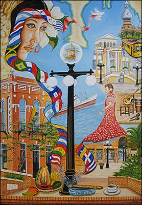 History of Tampa by Isidoro  Tejeda