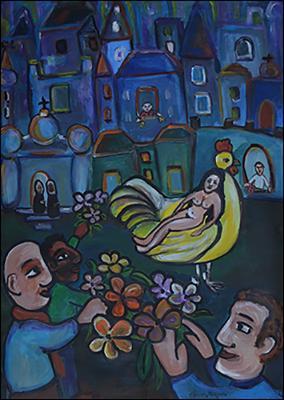The Virgin by Claudia Delgado