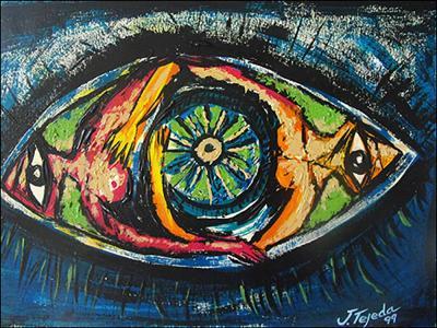 Deidad Africana by Jorge Tejeda