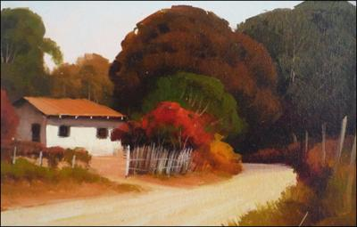 House on a dirt Road by Ernandes B. Silva