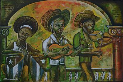 Three Musicians by Juan la Mancha