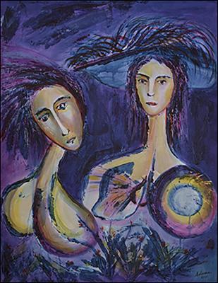Twins 1 by Daniel Solana Rivera