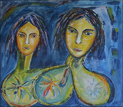 Twins 2 by Daniel Solana Rivera