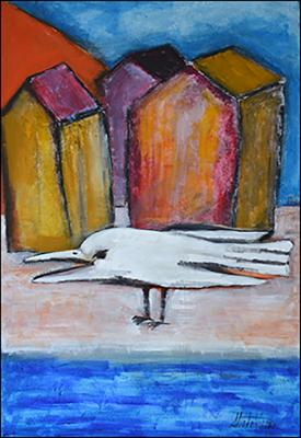 The Bird by Guillermo Estrada Viera