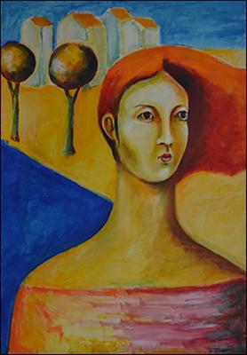 Contemplating by Guillermo Estrada Viera