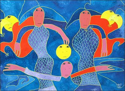 Spirits 1 by Levoy Exil