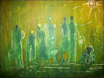 Migration 1 by Mario Calixte