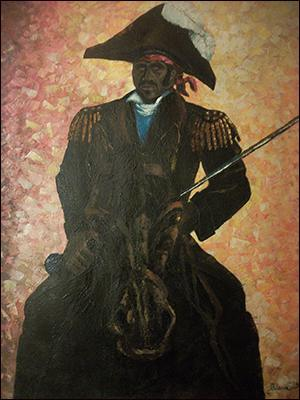 The Emperor Dessalines by Mario Calixte