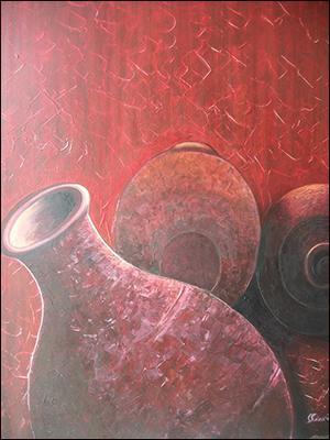 Terrines 1 by Mario Calixte