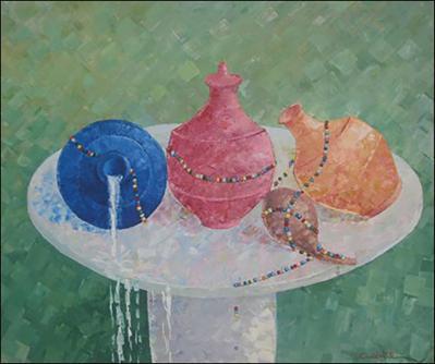 Table Marasa by Mario Calixte