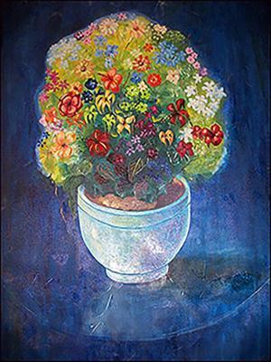 Flowers by Mario Calixte