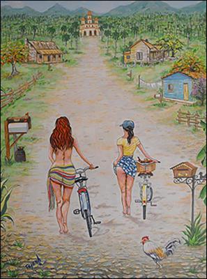 Del Paseo por el Campo by Isidoro  Tejeda