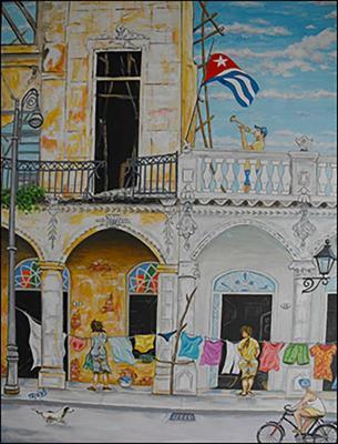 Estampas del al Habana Vieja by Isidoro  Tejeda