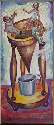Brewing the Cuban Expresso in Stereo (Colada en Stereo) (Series Musicians) by Armando Tejuca