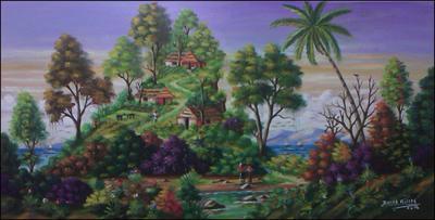 Jacmel View by Raoul Gilles