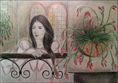 En el Balcon by Jenizbel Pujol Jova