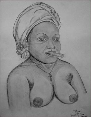 Negra by Jenizbel Pujol Jova