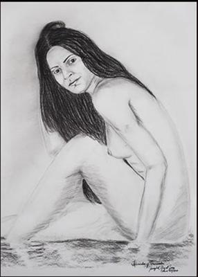 Desnuda y Cansada by Jenizbel Pujol Jova
