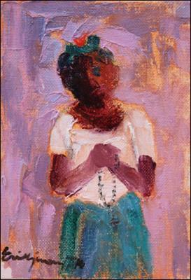The Prayer by Eric Girault
