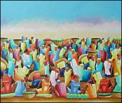 Market Day by Dupuy Sanon