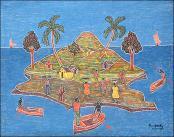 Island Village by Price Henry