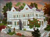 White Gingerbread House by Galland Semerand