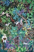 Jungle Families by Jean Idelus Edme