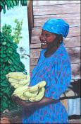 Marchande de Banane by Hugh Michel Berrouet